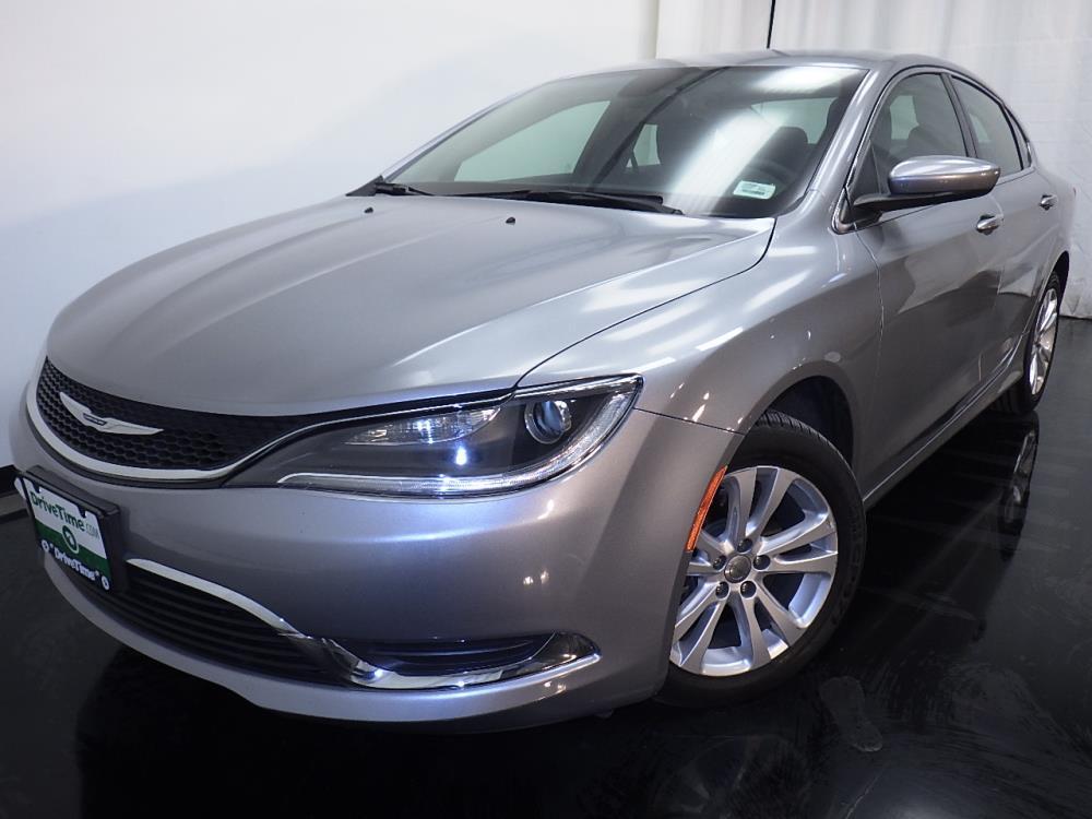 2016 Chrysler 200 Limited - 1010156806