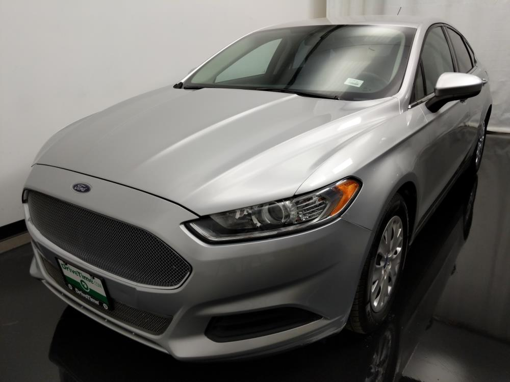 2013 Ford Fusion S - 1010157380