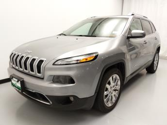 2016 Jeep Cherokee Limited - 1010158804