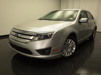 2012 Ford Fusion Hybrid - 1030174537