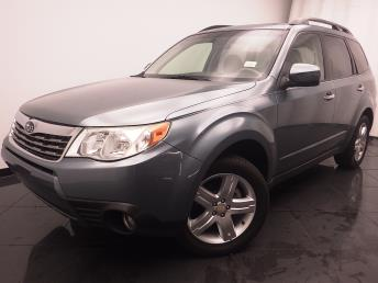 2010 Subaru Forester 2.5 X Limited - 1030185153