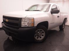 2012 Chevrolet Silverado 1500 Regular Cab Work Truck 6.5 ft