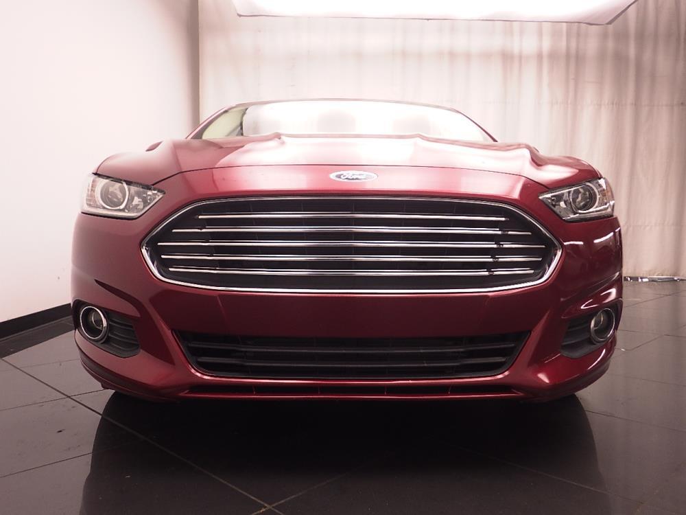 ford fusion energi plug  hybrid se luxury  sale  atlanta  drivetime