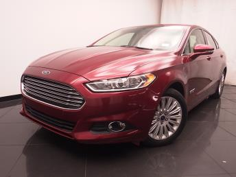 2014 Ford Fusion Energi Plug-In Hybrid SE Luxury - 1030187509