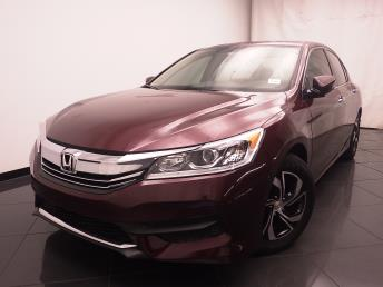 2016 Honda Accord LX - 1030188797