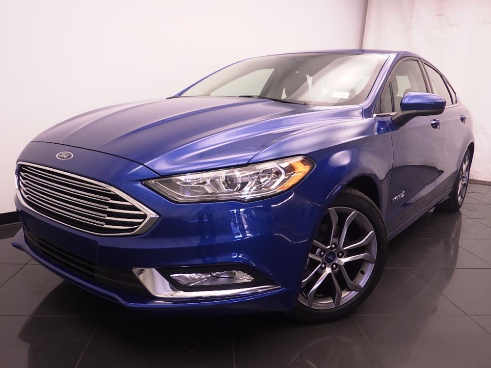 2017 Ford Fusion SE Hybrid - 1030188915