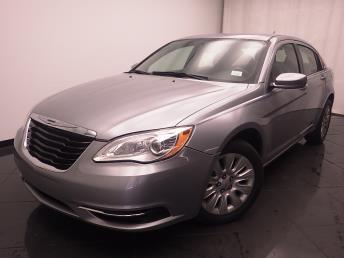 2014 Chrysler 200 LX - 1030189633