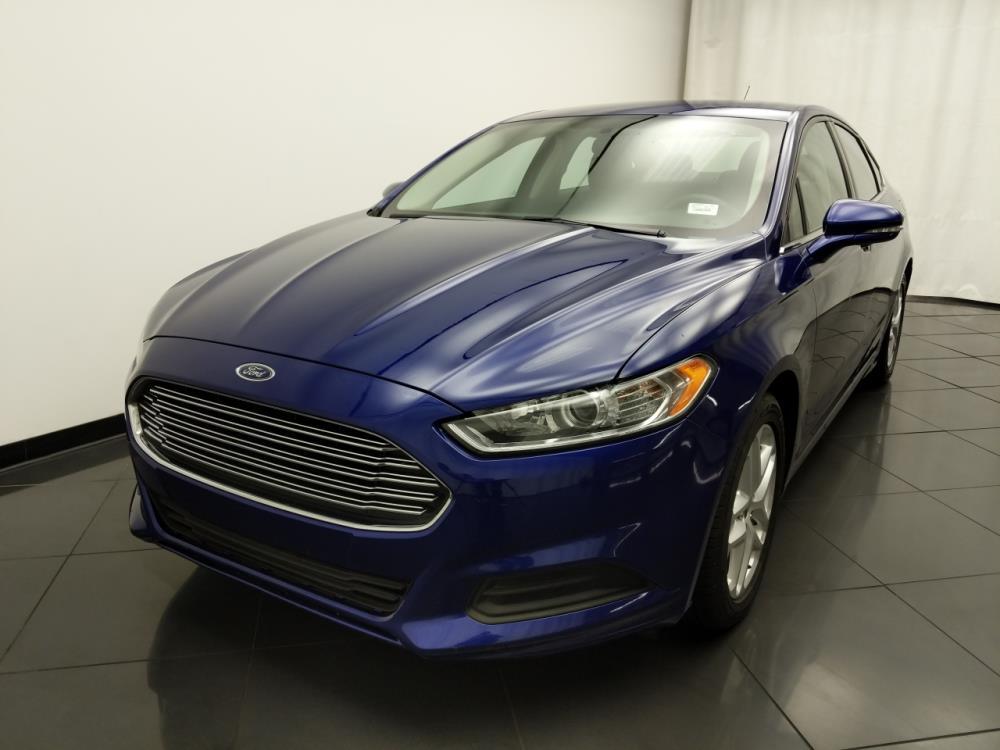 2016 Ford Fusion SE - 1030190730