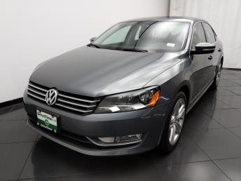 Used 2015 Volkswagen Passat