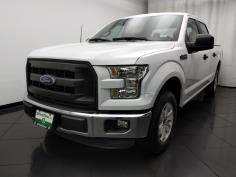2015 Ford F-150 SuperCrew Cab XL 5.5 ft