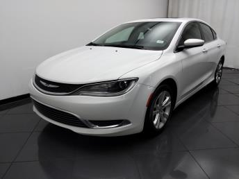 2015 Chrysler 200 Limited - 1030192762