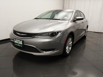 2015 Chrysler 200 Limited - 1030193340