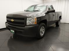 2011 Chevrolet Silverado 1500 Regular Cab Work Truck 8 ft