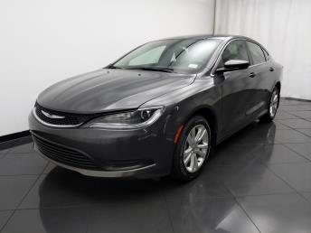 2016 Chrysler 200 LX - 1030194343