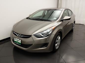 2013 Hyundai Elantra GLS - 1030195385
