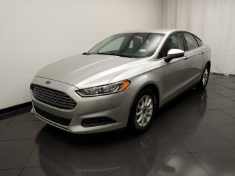 2016 Ford Fusion S - 1030196304