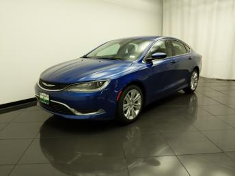 2015 Chrysler 200 Limited - 1030196773
