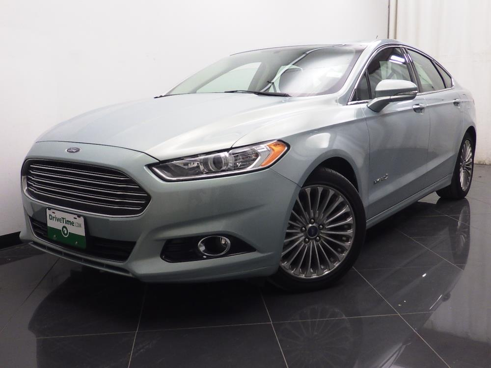 2014 ford fusion titanium hybrid for sale in dallas. Black Bedroom Furniture Sets. Home Design Ideas