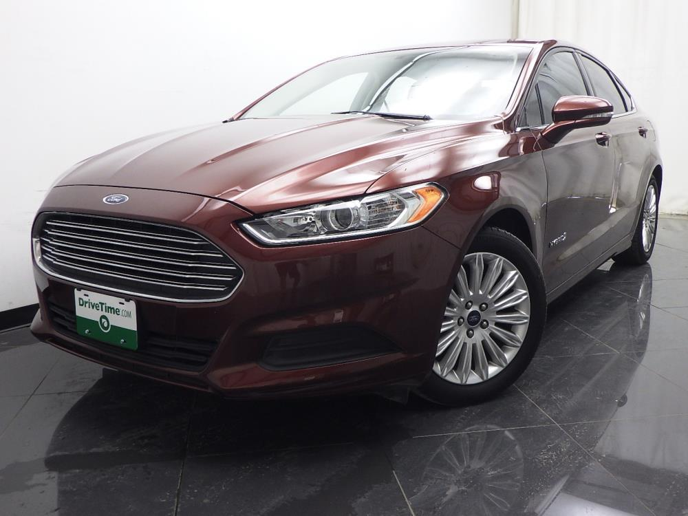 2016 ford fusion se hybrid for sale in oklahoma city 1040197458 drivetime. Black Bedroom Furniture Sets. Home Design Ideas