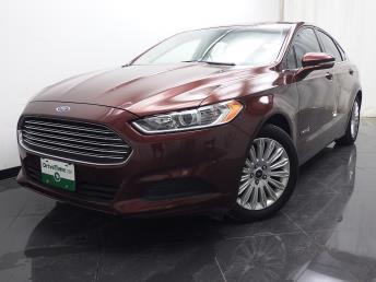 2016 Ford Fusion SE Hybrid - 1040197458