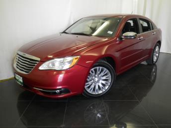 2012 Chrysler 200 Limited - 1040198178