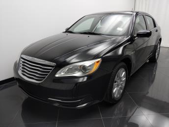 2012 Chrysler 200 LX - 1040201257