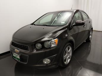 2013 Chevrolet Sonic LTZ - 1040202184
