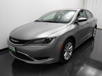 2016 Chrysler 200 Limited - 1040202271