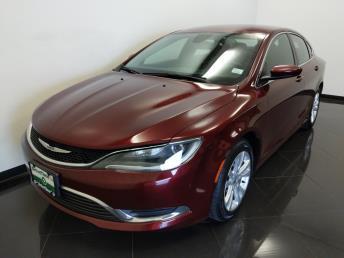 2016 Chrysler 200 Limited - 1040202295