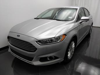 2013 Ford Fusion SE Hybrid - 1040202726