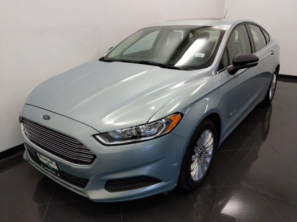 2013 Ford Fusion SE Hybrid - 1040202863