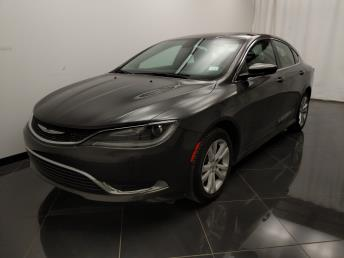 2015 Chrysler 200 Limited - 1040204734