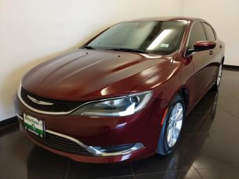 2016 Chrysler 200 Limited - 1040205648