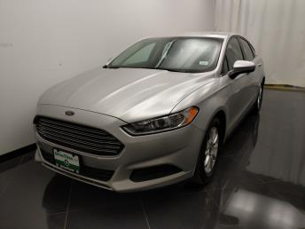 2015 Ford Fusion S - 1040205916