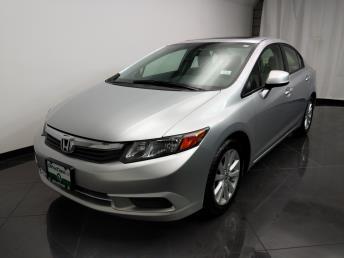 2012 Honda Civic EX - 1040205995
