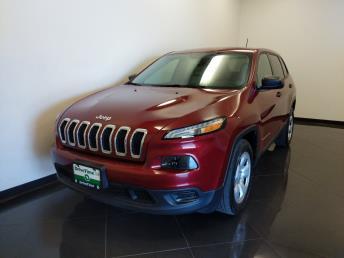 2016 Jeep Cherokee Sport - 1040206881