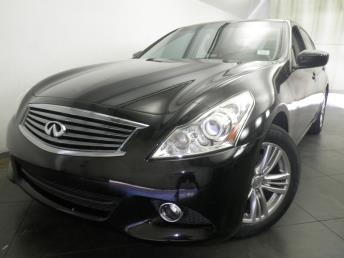 2012 INFINITI G25 Sedan - 1050135620