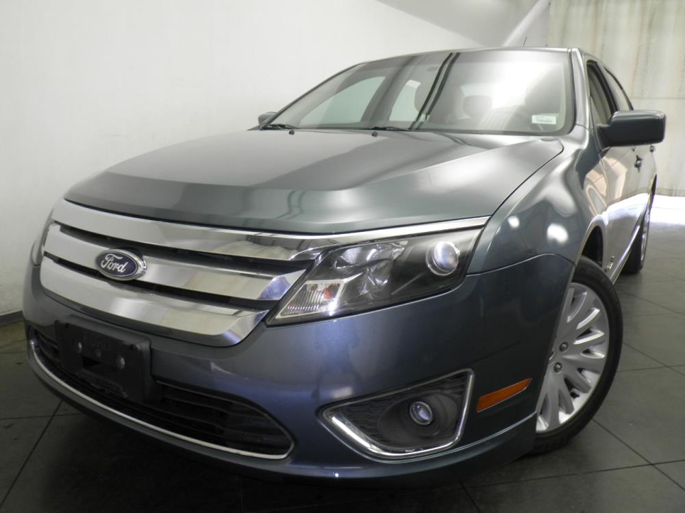 2011 Ford Fusion Hybrid - 1050144447