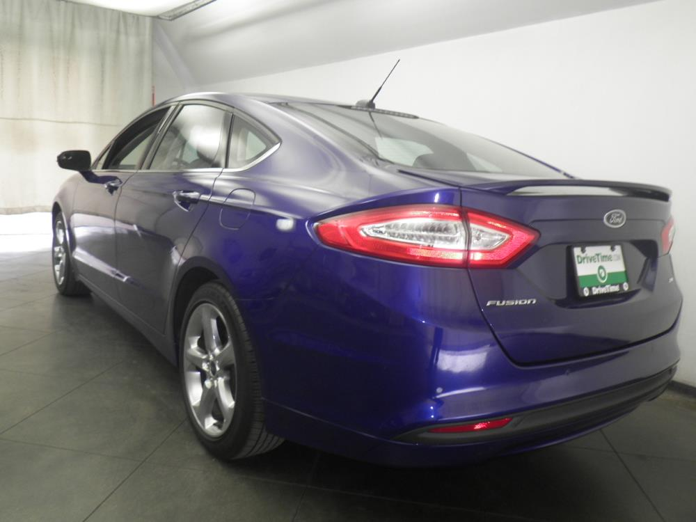 2014 ford fusion for sale in phoenix 1050147678 drivetime. Black Bedroom Furniture Sets. Home Design Ideas