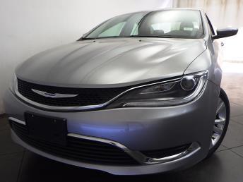 2016 Chrysler 200 - 1050154880