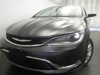 2016 Chrysler 200 - 1050155104