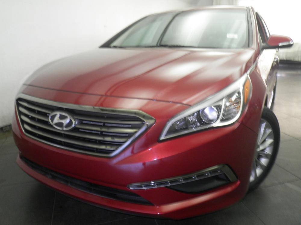 2015 Hyundai Sonata Limited - 1050155652