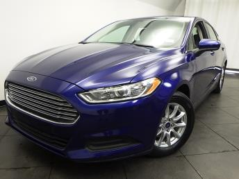 2016 Ford Fusion S - 1050157542