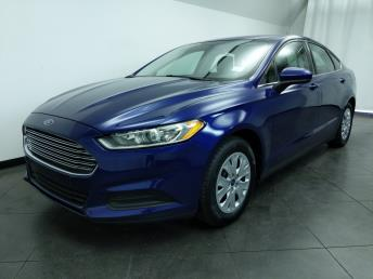 2013 Ford Fusion S - 1050160354