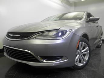 2015 Chrysler 200 - 1060151322