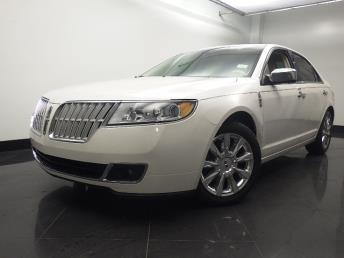 2012 Lincoln MKZ  - 1060160713
