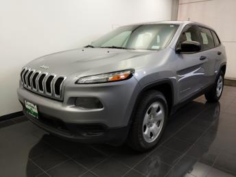 2014 Jeep Cherokee Sport - 1070068031