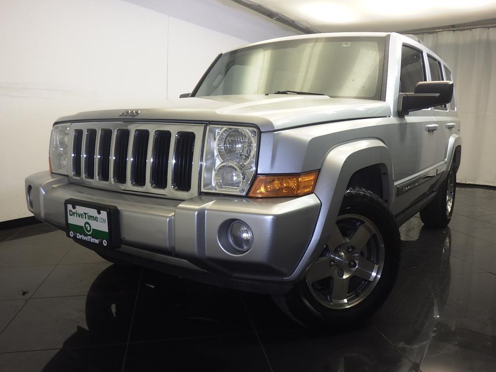 2010 jeep commander for sale in san antonio 1080168550 drivetime. Black Bedroom Furniture Sets. Home Design Ideas