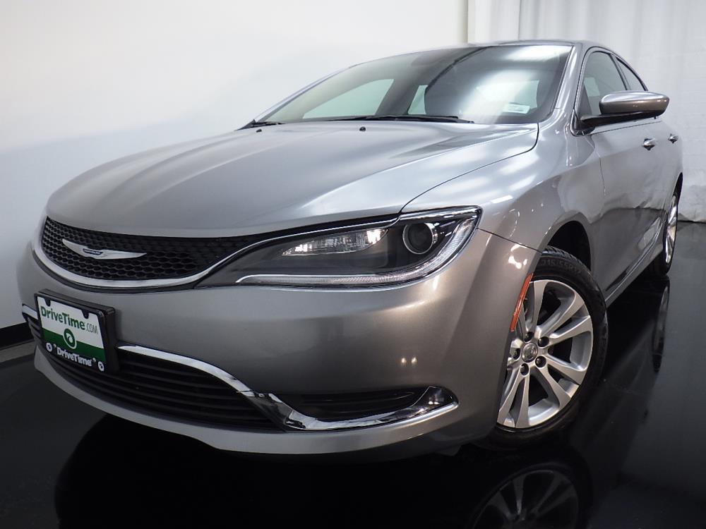 2016 Chrysler 200 Limited - 1080170635