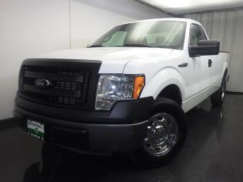 2014 Ford F-150 Regular Cab XL 8 ft - 1080171436